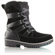 Sorel Youth Meadow Lace Boots Black, Dark Grey